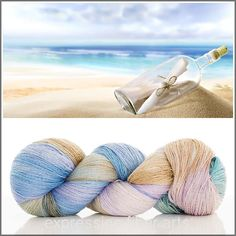 $39 - Expression Fiber Arts Yarn - MESSAGE IN A BOTTLE YAK SILK LACE YARN, (http://www.expressionfiberarts.com/products/message-in-a-bottle-yak-silk-lace-yarn.html)