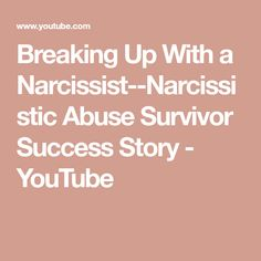 Success stories after narcissistic abuse