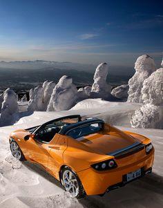 Tesla Roadster 3.0: un eléctrico aerodinámico y eficiente. #tesla #electric #cars