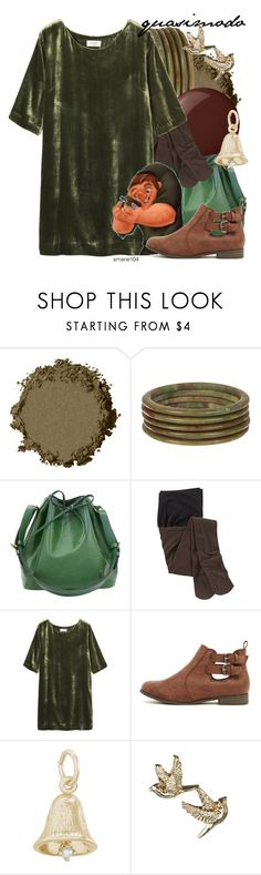 """""""Quasimodo"""" by amarie104 ❤ liked on Polyvore featuring Essie, Louis Vuitton, Toast and Rembrandt Charms"""