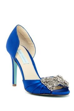 Blue by Betsey Johnson 'Gown' Pump
