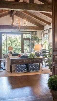 56 gorgeous farmhouse living room design decor ideas home 48 Coastal Living Rooms, Home Living Room, Living Room Designs, Living Room Decor, Living Spaces, Small Living, Modern Living, Living Area, Living Room Interior