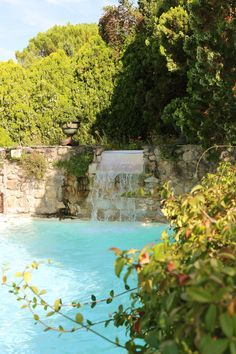 pool at bastide de marie