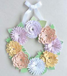 > Guirlanda Floral Pastel. www.lonasdesign.com