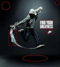 Nike Kampagne ads self actualization Shoe Advertising, Sports Advertising, Ad Sports, Sports Marketing, Creative Advertising, Advertising Design, Employer Branding, Salford, Nike Ad