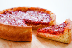 Chicago-Style Deep-Dish Pizza recipe... just like Lou Malnati's