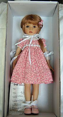 Dianna Effner Little Darling 1 Painted by Joyce Mathews of Kuwahi Dolls   eBay