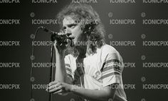 FOREIGNER - vocalist Lou Gramm - performing live at The Rainbow Theatre in London UK - 27 Apr 1978.  Photo credit: George Bodnar/IconicPix