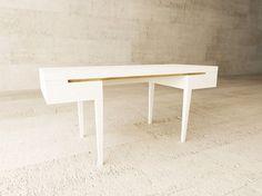 Oak writing desk VINI by LAGERFORM