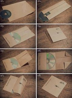 CD cover without glue!