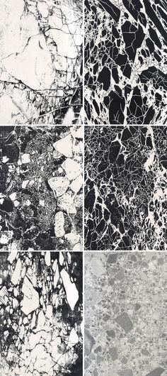MARBLE / BLACK & WHITE / MOOD