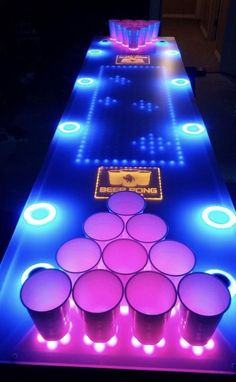 Interactive LED Beer Pong Table (BPT – You are in the right place about white decoration party Here we offer you the most beautiful pictures about the decoration party you are looking for. When you examine the Interactive LED Beer Pong Table (BPT – … 21 Party, Fiesta Party, Party Summer, Party Cups, Summer Fun, Party Time, Led Beer Pong Table, Beer Table, House Party Decorations