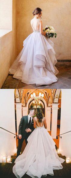 2017 wedding dress, long wedding dress, gorgeous wedding dress