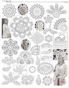 Popular irish crochet patterns find this pin and more on crochet patterns. HUEBIDQ - Crochet and Knit Irish Crochet Patterns, Crochet Motifs, Crochet Diagram, Freeform Crochet, Crochet Art, Crochet Stitch, Crochet Designs, Crochet Doilies, Crochet Leaves