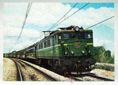 Postal Colección Renfe Serie TC 1 Expreso Costa Vasca circula desde 1970 Ed Minuesa 1973 sin circula