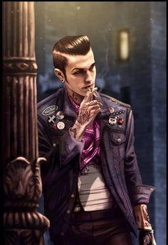 Greaser Vampire, cool vampire