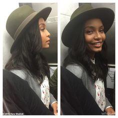 """Yara (يارا) Shahidi on Instagram: """"Caught in the elevator! #MovinOnUp #blackish a taste of @BrooksBrothers"""""""