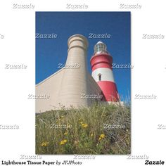 Shop Lighthouse Tissue Paper created by JFJPhoto. Custom Tissue Paper, Small Gifts, Just Go, My Images, Lighthouse, Party Favors, Presentation, Arts And Crafts, How To Make
