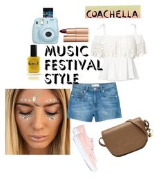 """""""coachella ready"""" by itspeaches ❤ liked on Polyvore featuring H&M, Ralph Lauren, Charlotte Tilbury and Lauren B. Beauty"""