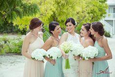 Bridesmaid Dresses, Wedding Dresses, Beach Weddings, Fashion, Bridesmade Dresses, Bride Dresses, Weddings At The Beach, Moda, Bridal Gowns