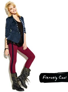 Head out knowing your rocking the right vibe in our High Ranking Style #Jacket, Fit Right In #Skinnies and Rock the #Boots!