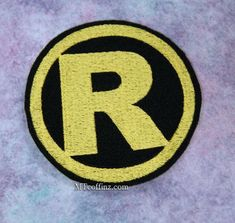 This Classic logo is inspired by the Retro version of Robins costume. This is the logo that was worn during the original series. Size: 3.78w x 3.78h (96 x 96 mm) ___ This Embroidered Patch can be added to almost anything. Use your imagination and create your own style by adding this patch to