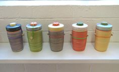 Large Utilitarian Porcelain Jar X Ben Fiess, Third Drawer Down