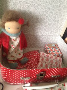 Suitcase dollie made by Else Besjes