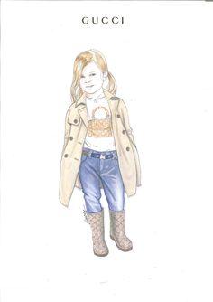 fashion sketches kids - Поиск в Google