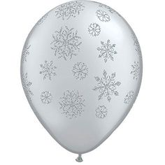 """six Disney Frozen Printed Latex Balloons Pack Birthday Party 6 12/"""" Asst Round"""
