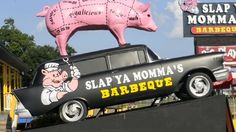 My mother is prolly one of my biggest fans for my videos so when I went to visit her, she wanted to be in my video.  We were driving through Biloxi, Mississippi and we saw Slap Ya Momma's Barbque and came up with this idea.  Enjoy.  BTW - I LOVE YOU MOMMA! lol
