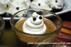 Cute Food For Kids?: 48 Edible Ghost Craft ideas for Halloween
