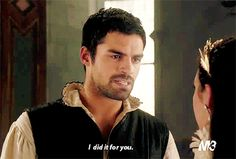 """""""I did it for you."""" Conde and Mary Reign"""