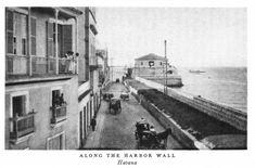 Calle en Puerto de La Habana,finales del siglo XlX
