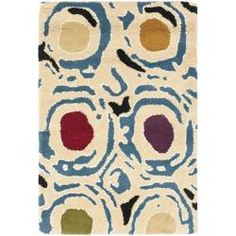 @Overstock - A dense, thick pile of New Zealand wool highlights this handmade rug. This floor rug has an ivory background and displays stunning panel colors of green, gold, red and blue.http://www.overstock.com/Home-Garden/Handmade-Soho-Ivory-Multi-New-Zealand-Wool-Rug-2-x-3/5822270/product.html?CID=214117 $27.48