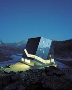 Monte Rosa Alpine Hut - ETH