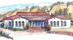 Courtyard Living With Casita - 16386MD | 1st Floor Master Suite, Butler Walk-in Pantry, CAD Available, Courtyard, Den-Office-Library-Study, European, In-Law Suite, Mediterranean, PDF, Southwest, Spanish, Split Bedrooms | Architectural Designs