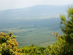 The stunning view from Mount Longonot, Kenya