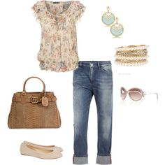 romantic casual - love this look