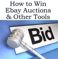 How to win Ebay Auctions + Much More http://www.ebay.co.uk/itm/How-To-Win-eBay-Auctions-Other-eBay-Tools-/390312967571?pt=US_Other_Softwarehash=item5ae0773d93