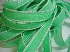 Spearmint  42 inch silk ribbon By Color by ColorKissedSingles, $3.00