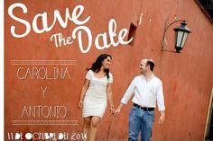 Una bonita manera de decirle a tus amigos y familiares que reserven la fecha de tu boda!