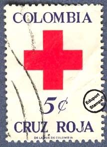 Cruz Roja Colombia 1969 - Beneficencia.