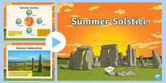 Summer Solstice Information PowerPoint Lego Therapy, Kinetic Sand, Different Seasons, Nature Study, Home Learning, Sensory Toys, Summer Solstice, Nature Crafts, Wild Child