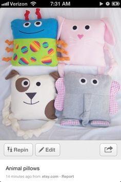 Pillow Ideas for Kids