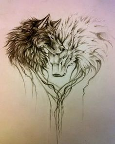 (100+) wolf tattoo | Tumblr on We Heart It