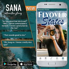 """A surprise meeting with an ex? The One That Got Away, and Second Chances in """"Flyover States"""" by A.O. Eastman. Just landed on Sana Interactive. 💚 Branching stories where YOU decide how the story goes. ⭐⭐⭐TAGS: book quotes, romance, romance author, reading app, ebook, romance reading, books, romance books for women, free ebooks, free online, free books, romantic books, romantic novel, fantasy, contemporary author, contemporary reading, modern books, modern for women, contemporary romanc Romance Authors, Romance Books, Sounds Good To Me, Modern Books, One That Got Away, Interactive Stories, Second Chances, Reading Books, Free Ebooks"""