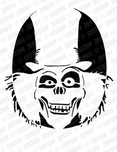 Pumpkin Stencil - Hat Box Ghost - Carving, Crafts - Downloadable