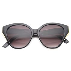 Womens Cat Eye Sunglasses With UV400 Protected Gradient Lens  #bold #sunglass #sunglasses #frame #purple #oversized #cateye #clear #sunglassla #summer