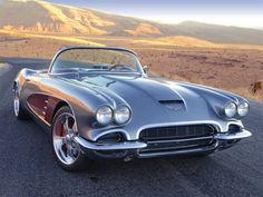 Photo Gallery - LS7-powered 1961 Chevrolet Corvette - Total Transformation - Automobile 1961 Corvette, Old Corvette, Classic Corvette, Chevy Muscle Cars, Chevrolet Chevelle, Chevy 3100, Sweet Cars, American Muscle Cars, Future Car
